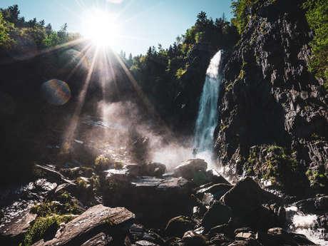 Hike - La Muzelle waterfall