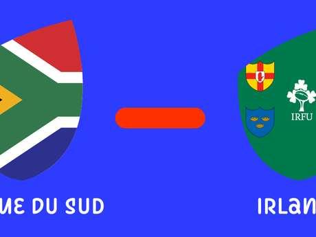 Coupe du monde de rugby - Afrique du Sud / Irlande