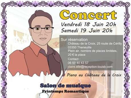 Concerts au Château de la Croix
