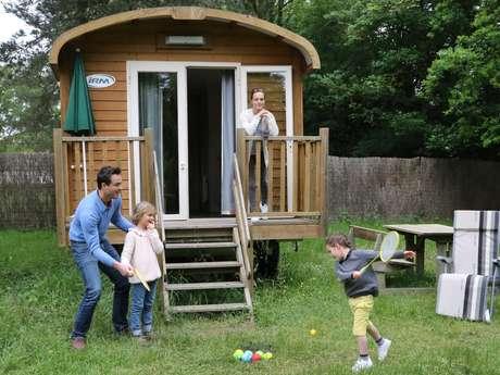 Camping le Nid du Parc - Roulottes