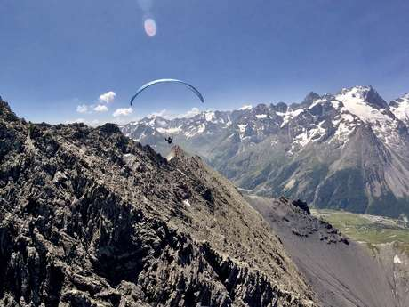 Stage d'initiation au vol en parapente