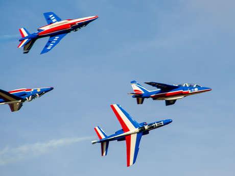 Offre Blue Sky - Initiation aux secrets de la Patrouille de France - Côté Ciel Bleu