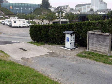 Aire d'accueil de camping-cars d'Egletons