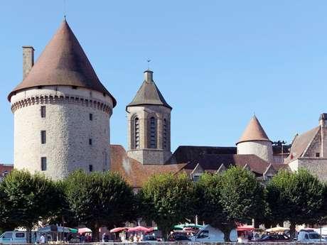 La Tour Zizim et la cité médiévale