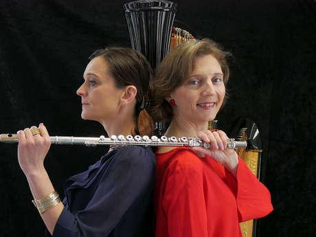 """Festival Musique au coeur de la Tapisserie : Concert  """"Hommage à André Jorrand"""" Flûte et Harpe"""