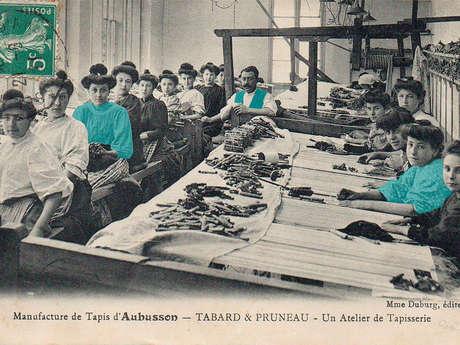 """Visite guidée """"Aubusson, au temps des manufactures"""""""