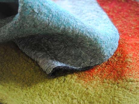 Stage de feutre de laine : Feutre en surfaces planes et Nuno
