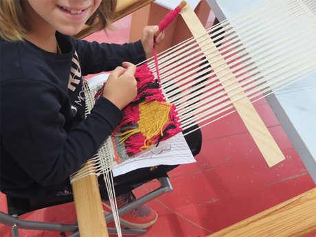 Stage découverte de la tapisserie pour enfants, adolescents et adultes
