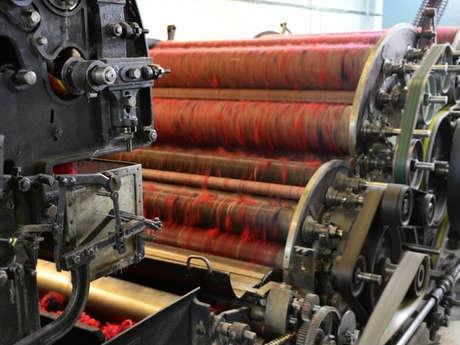 Découverte de la filature de laines Terrade