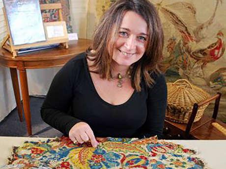 Restauration et conservation textiles et tapisseries Carole Chiron Saint-Cricq