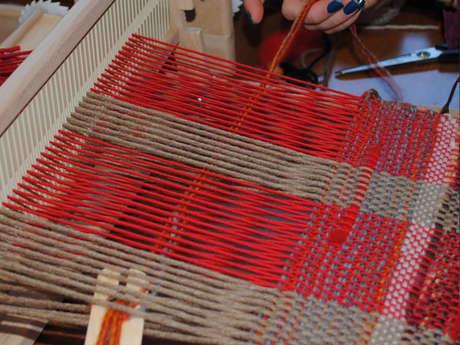 Atelier découverte : Écharpe sur métier à tisser Pénélope