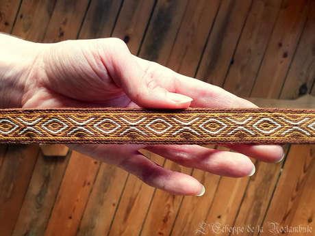 L'Echoppe de la Noctambule : tissage médiéval et création textile