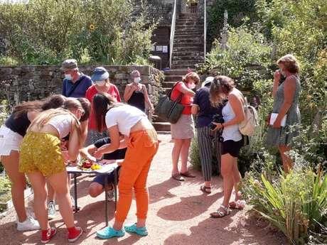 Jardins de l'Abbatiale et le Vallon du Cèdre de Bénévent l'Abbaye