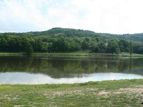 Circuit de randonnée pédestre n° 4 l'étang de la Vergne