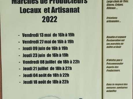 Marché nocturne de producteurs et artisans locaux