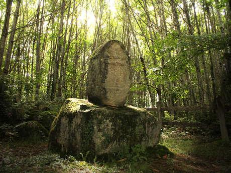 Stèle de la Betoulle à Saint-Maurice-La-Souterraine