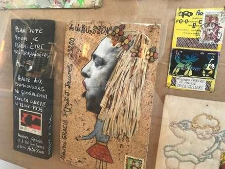 """Exposition """"comics / mangas et graffiti"""" à la médiathèque de Royère de Vassivière"""