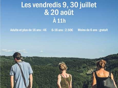 """Visite """"Un Château & un paysage"""" au Château de Ventadour"""