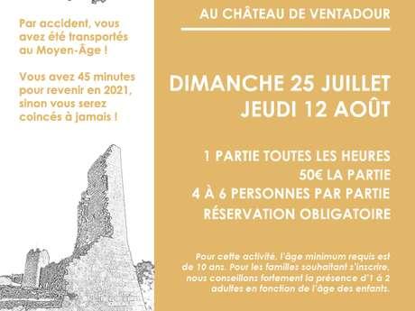 Escape Game au château de Ventadour