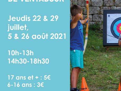 Tir à l'arc au château de Ventadour