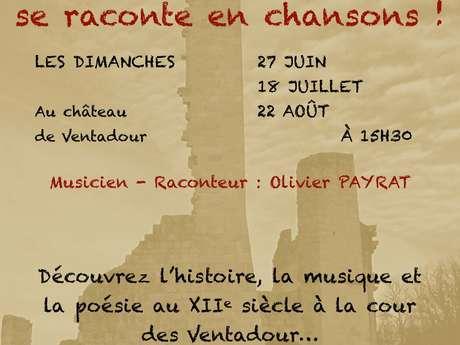Quand l'histoire se raconte en chansons au château de Ventadour