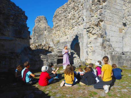 Visite contée au château de Ventadour