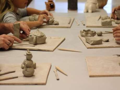 Atelier des minipouces (modelage)