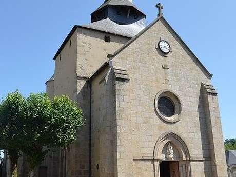 Eglise Saint Pierre Es Liens - La Celle Dunoise