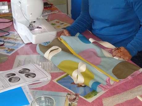 Atelier Couture récup' déco de Noel