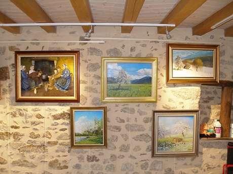 Atelier galerie de Mireille Boehm