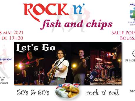 ANNULEE Soirée Rock n' Fish and chips