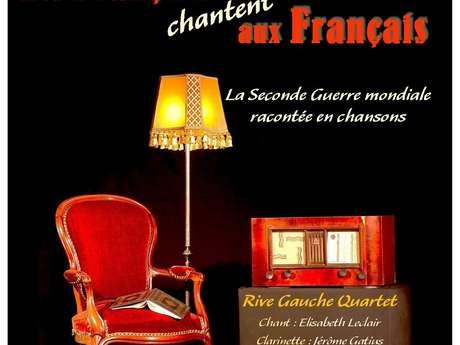 Spectacle musical Les Français chantent aux Français