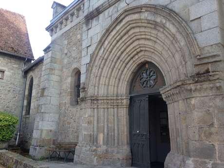 Visite commentée de l'église St Jacques et de ses fresques