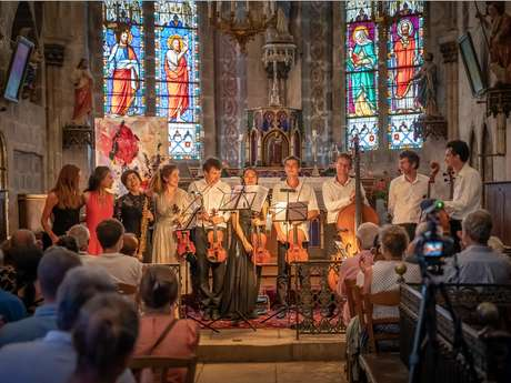 Concert à l'église de Lupersat