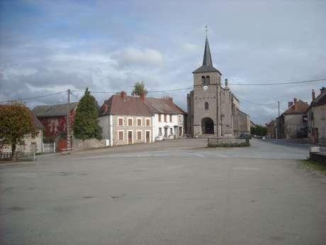 L'église de Mérinchal