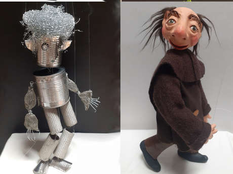 """Fabrication de marionnettes """"Création et upcycling"""""""