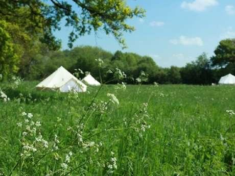 La tente sous les étoiles : Glamping de M. and Mrs Stanton