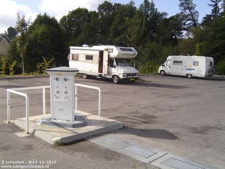 Aire d'accueil de camping-cars de La Courtine