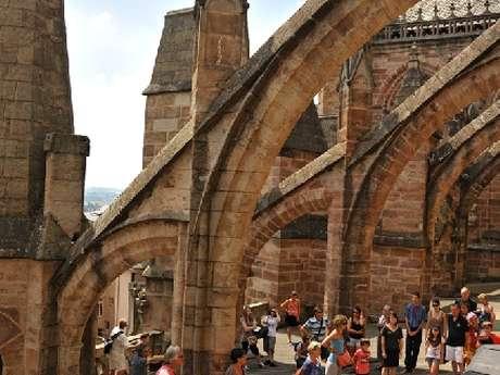 Visite guidée du clocher de la cathédrale