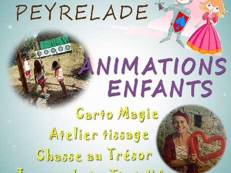 Animations enfants au château de Peyrelade