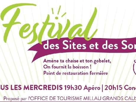 Festival des Sites et des Sons à Pierrefiche du Larzac