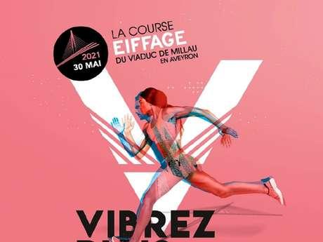 La course Eiffage du Viaduc de Millau en Aveyron 2021