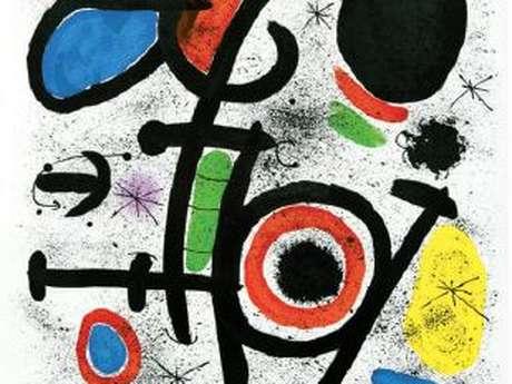 Exposition Miró, des lignes et des couleurs - REPORTÉE A 2021