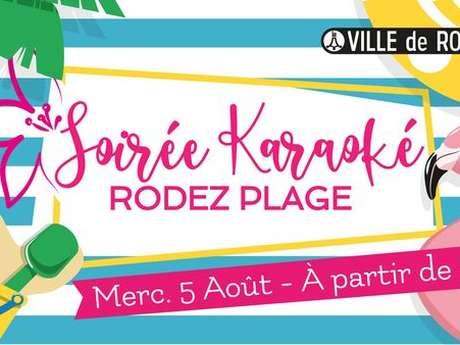 Les soirées Rodez Plage : Karaoké
