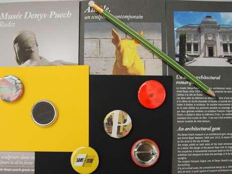 Journées du patrimoine : atelier badges au musée Denys-Puech