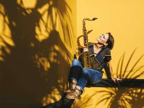 Sophie Alour 5tet invite Mohamed Abozekry - Festival Millau Jazz - ANNULÉ