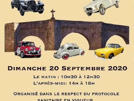 Journées du patrimoine : Exposition de véhicules anciens