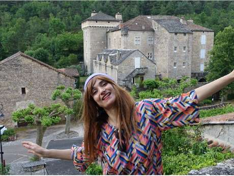 Peyreleau : les visites décalées de Germaine Bonheur