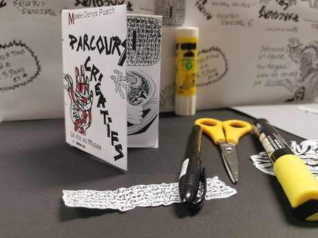 """Parcours créatifs au musée Denys-Puech """"Fanzine et badge"""""""