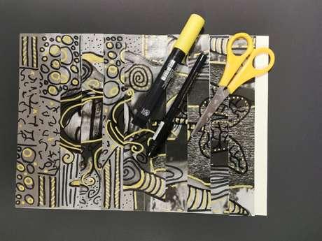 """Parcours créatifs au musée Denys-Puech """"création-fragmentation"""""""